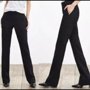 BANANA REPUBLIC BLACK VELVET PANTS 10